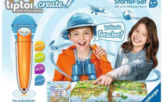 tiptoi® CREATE Starter-Set: Stift und Weltreise-Buch